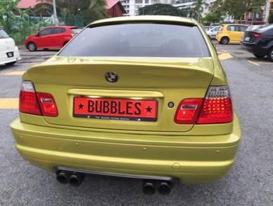 Bmw E46 M3 style FRP rear bumper