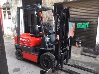 Japan Import TOYOTA 1.8 Ton Diesel Auto Forklift