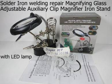 Welding Magnifying Glass with LED Clip Magnifier