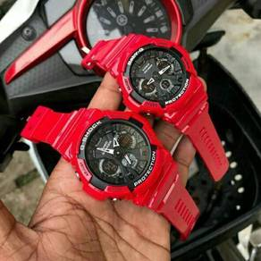 G-shock & baby-g ga200 red black limited edition