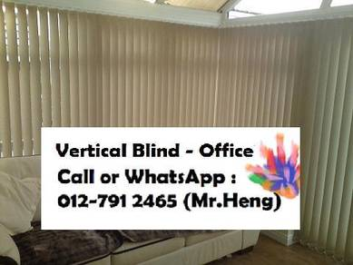 Modern Office Vertical Blind with Install EA99