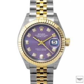 ROLEX Lady Datejust Lavender Diamond 279173 LVDJ