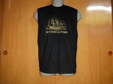 Vtg britsh mariner sleeveless shirt