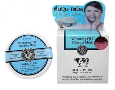 Beauty Buffet Milk Plus Whitening Q10 Sleeping Mas