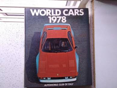 Book :- World Cars 1978. For car lovers