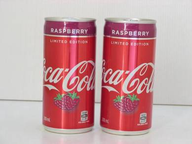 Coke Coca-Cola Raspberry 200ml can