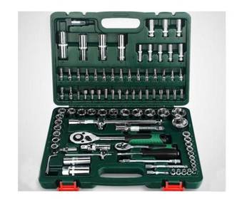 Socket Wrench Hand Tool Set 94 Pcs 1/2