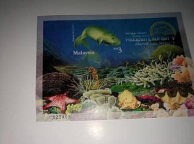 Setem Malaysia Hidupan Laut uncut