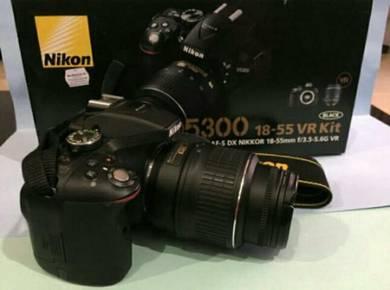 Nikon D5300 18-55 VR Kit (Used)