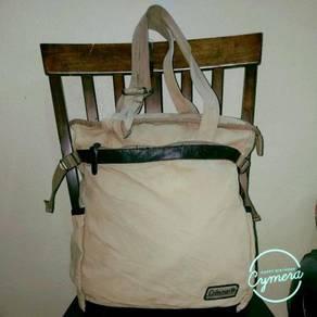 Shoulder Bag Canvas Fabric Coleman