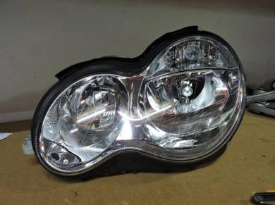 Mercedes Cclass W203 New Facelift 2004-07 Headlamp