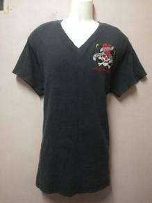 T-Shirt V Neck ED HARDY USA