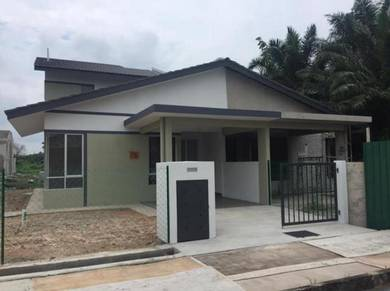Banting Town 1.5 Storey Semi-D Cluster, Show unit Ready