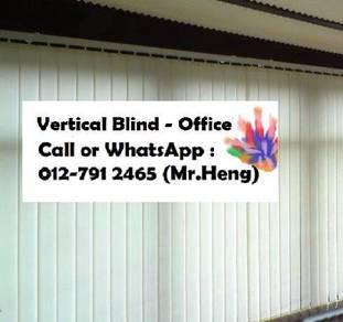 Window Dressing with Vertical Blind YA90