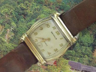 Vintage Benrus art deco watch