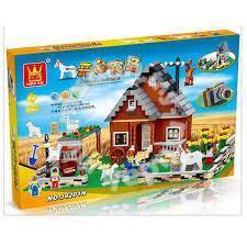 Bricks - WG 34201 FARM house building