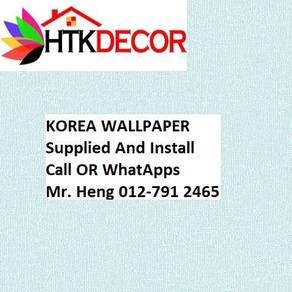 Wall paper Install at Living Space 20ALW