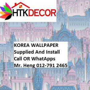 Install Wall paper for Your Office 17ALW