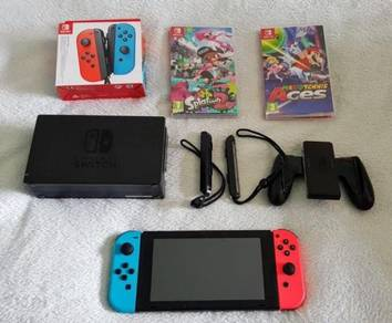Switch 32GB Neon Red/Neon Blue