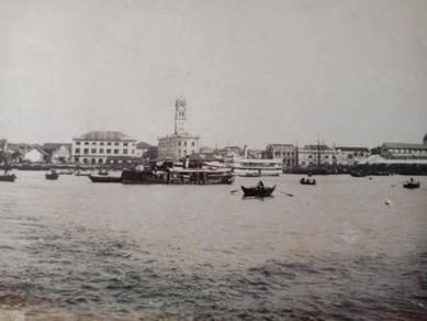 Antik Postcard PENANG 1920 PX121