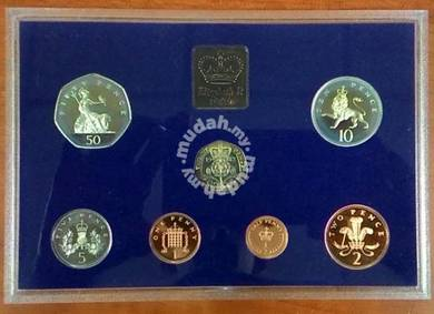 Proof Coin Set Great Britain