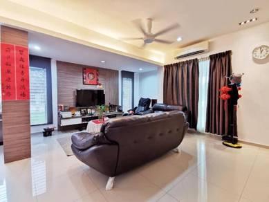 Super Nice Setia Indah Setia Alam 2sty Corner Full Renovated & Furnish