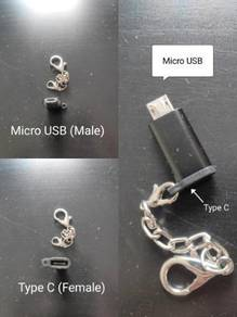 Converter Adapter Type C to Micro USB