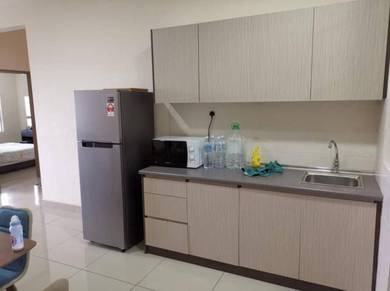 PV21 Setapak 2 room SEMI FURNISHED with kitchen cabinet and FULL AC