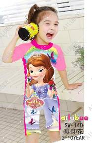 Baju renang swimsuit sw140 SOFIA THE FIRST
