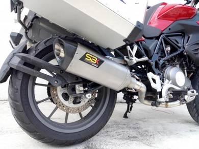 Benelli TRK502 Ekzos SBK Dual Purpose Exhaust