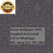 Wall paper Install at Living Space 34hn54h