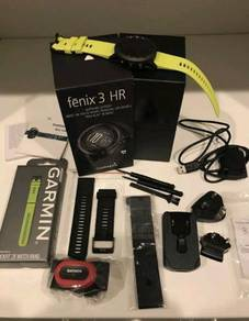 Garmin Fenix 3 HR Sapphire Fullbox