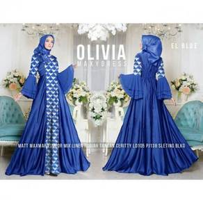 Olivia sv princess maxi dress long sleeve Muslimah