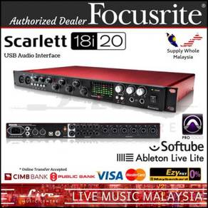 Focusrite Scarlett 18i20 (2nd Gen) Audio Interface