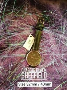 Daniel Wellington Black Sheffield - All-In-Box