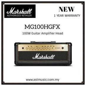 New Marshall MG100HGFX 100W Guitar Amplifier Head