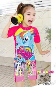 Baju renang swimsuit sw139 MY LITTLE PONY
