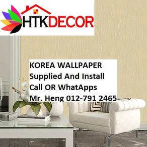 Wall paper Install at Living Space 20AEW
