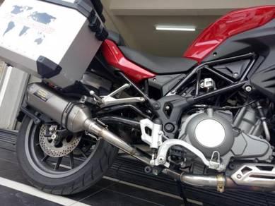 Ekzos Benelli TRK502 TRK 502 SBK TRI OVAL Exhaust