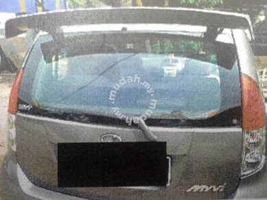 Perodua myvi monster spoiler fibre no paint