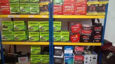 Motolite & amaron car battery service