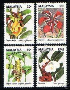 Mint Stamp Wild Flower Series 2 Malaysia 1993