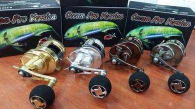 GTECH JAPAN OCEAN PRO VERSION Jigging Fishing Reel