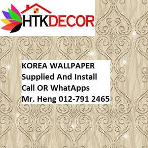 PVC Vinyl Wall paper with Expert Install 29AHW