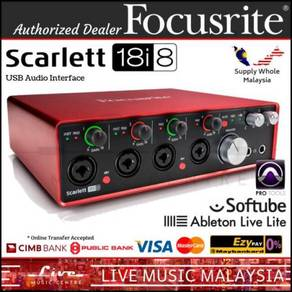 Focusrite Scarlett 18i8 (2nd Gen)18in/8out USB