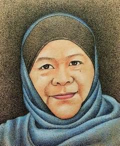 Tempahan Lukisan Potret NUFAZART (Selangor)