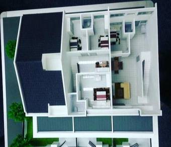 Freehold double storey seksyen 30  (MALAY RESERVED) zero d/pymt