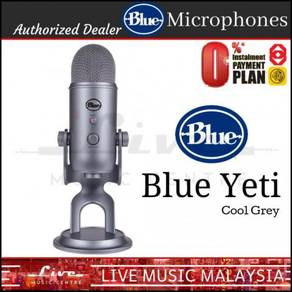 Blue Microphones Yeti USB Microphone Mic Cool Grey