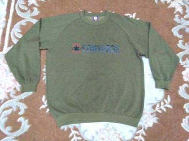 CONVERSE SWEATSHIRT spell out size L