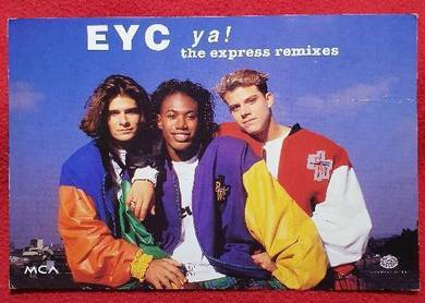 EYC Ya THE EXPRESS REMIXES Official MCA Postcard